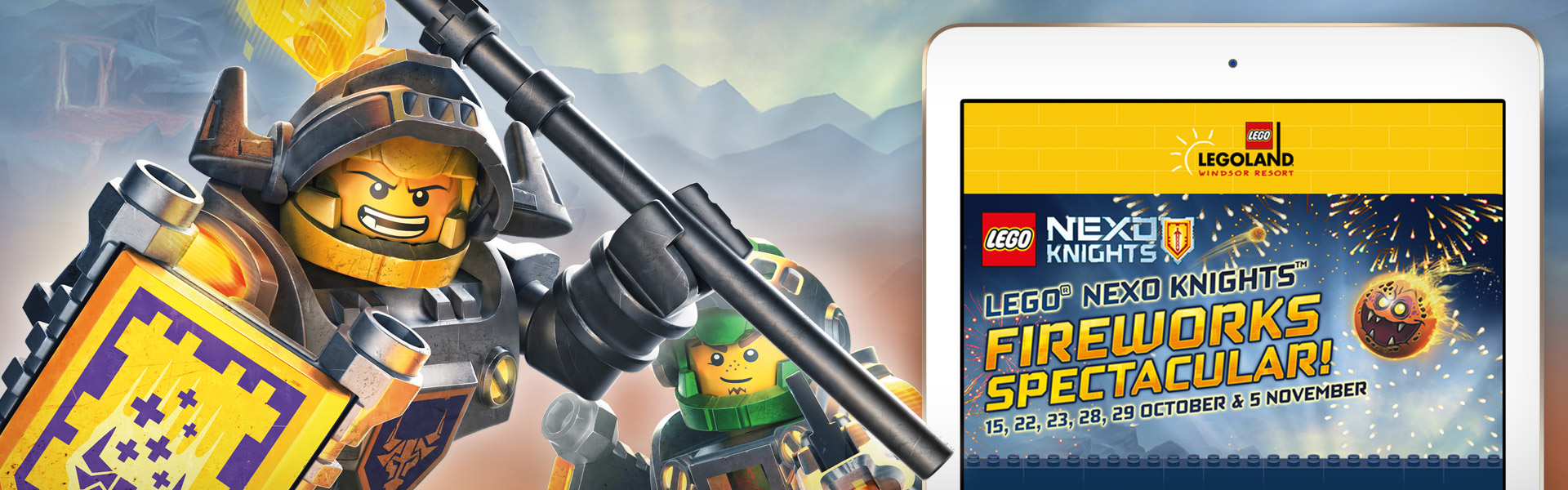 Legoland Nexo Knights Email Campaign