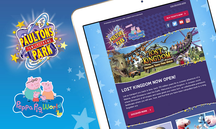 Paultons Park Email Templates